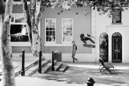 Ryan Sheckler Kickflip. Photo by Andrew Peters