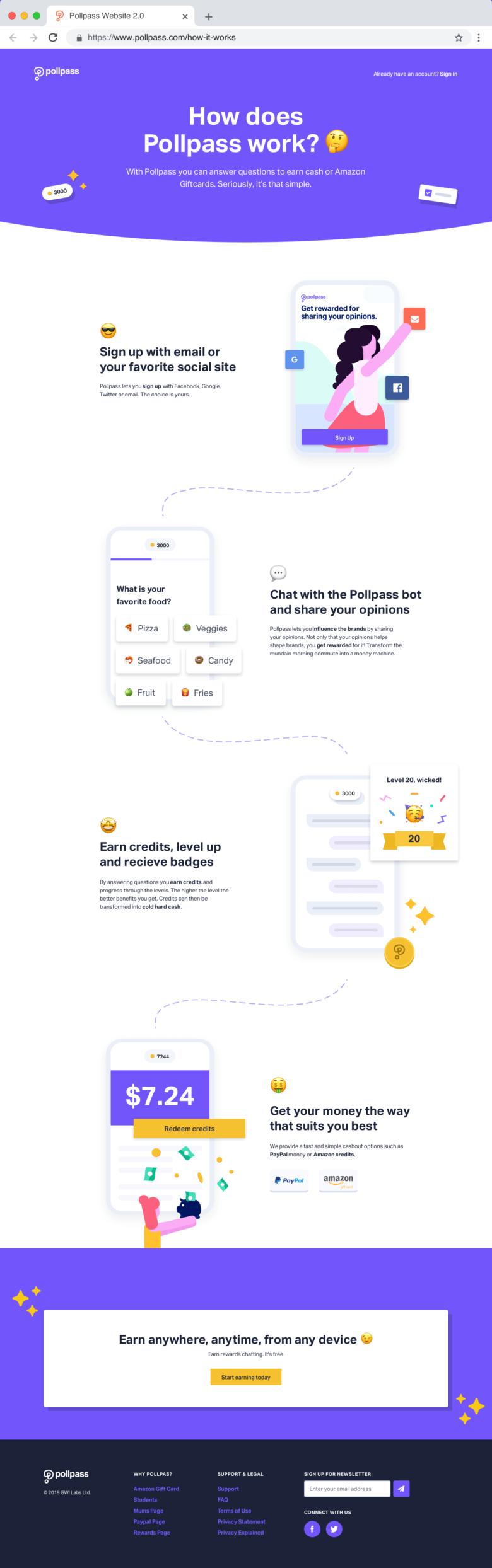 New Pollpass Website